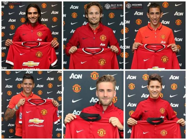 Manchester United signings