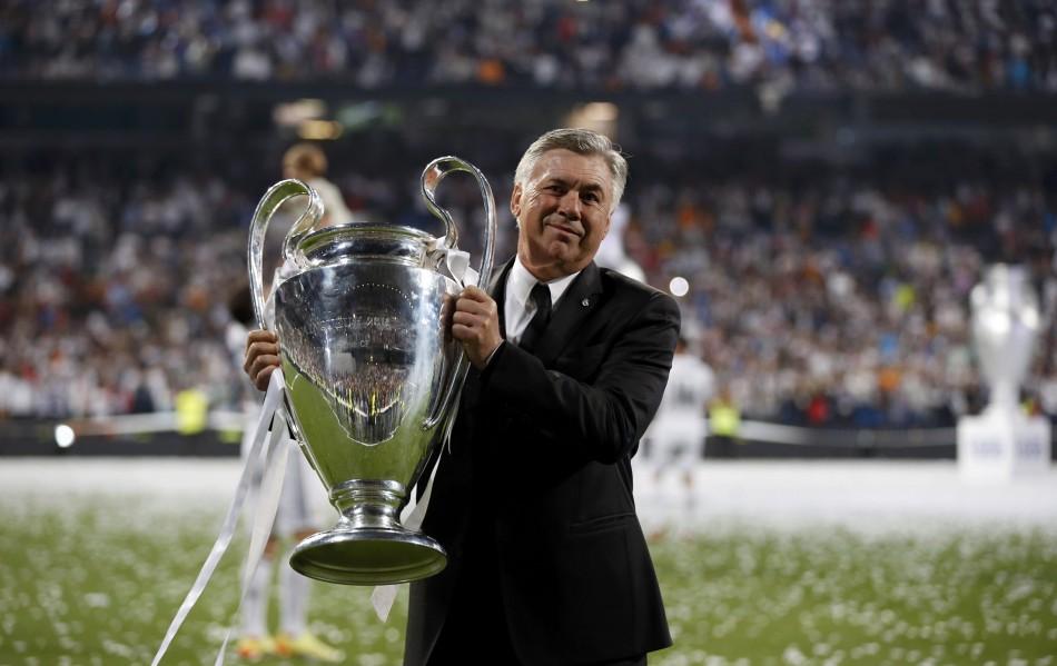 Výsledek obrázku pro real madrid uefa champions league 2014 ancelotti