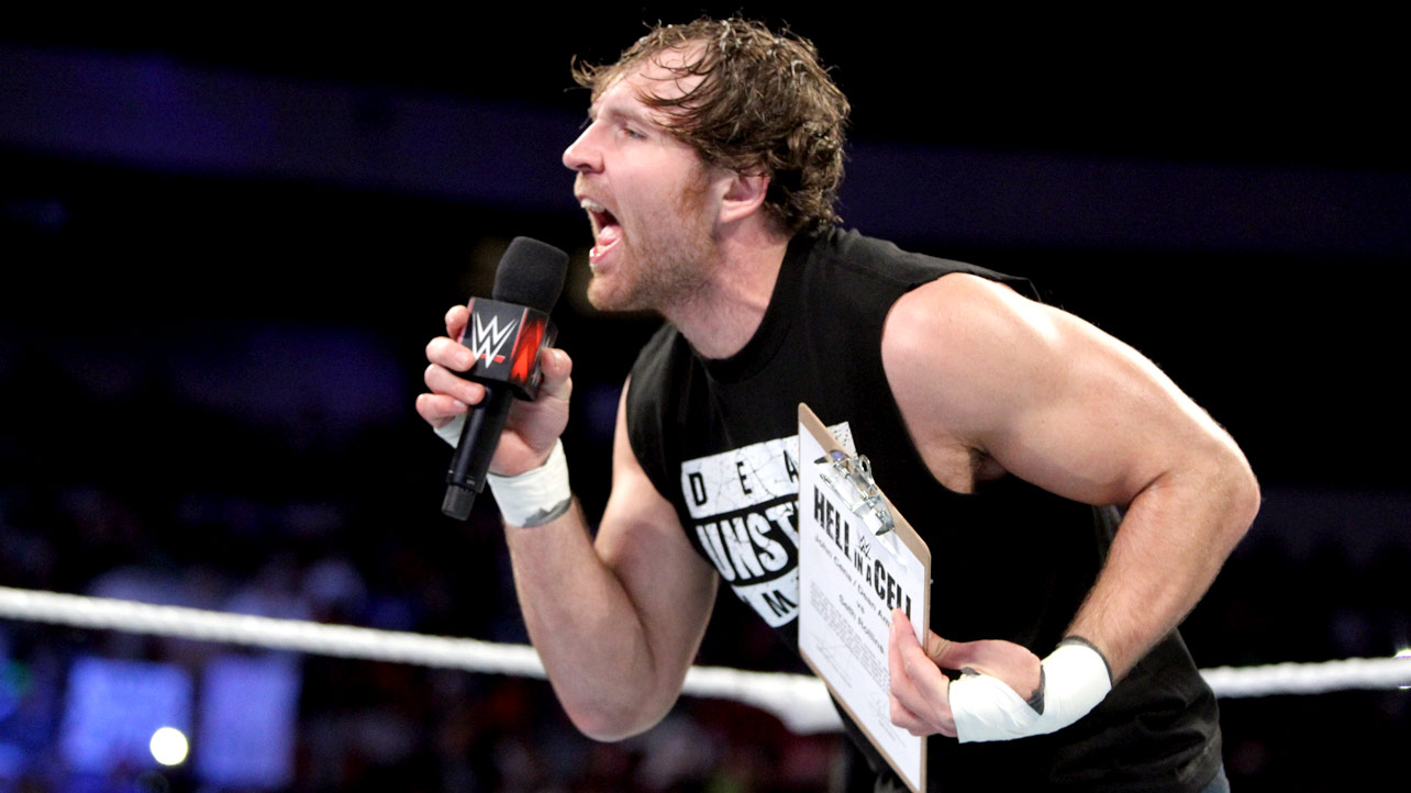 Dean Ambrose Talks Brock Lesnar Not Defending The Wwe