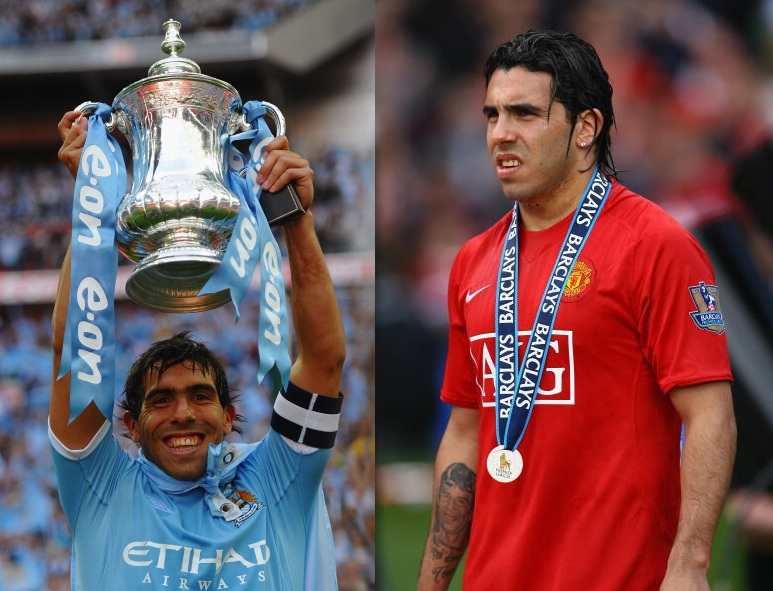 5 Players Who Played For Both Manchester City And United In The Premier League Era