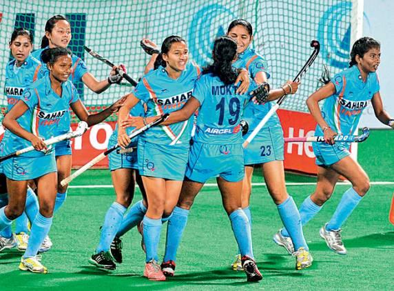 Indian women capture glory