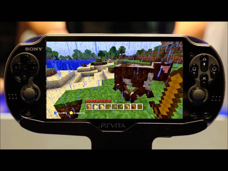 Minecraft PS Vita Edition Now Available - Minecraft spiele fur ps vita