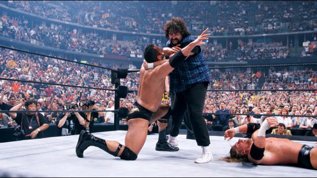 How Mick Foley was removed fro...