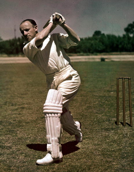 When Don Bradman scored 100 ru...