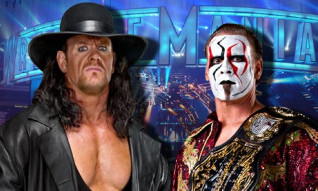 WWEs Wrestlemania 31 Plans Including Sting Triple H The Rock Brock Lesnar And Roman Reigns