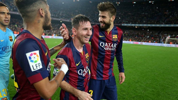6a03d6450b9 Video  How Lionel Messi watched his own tribute at the Camp Nou