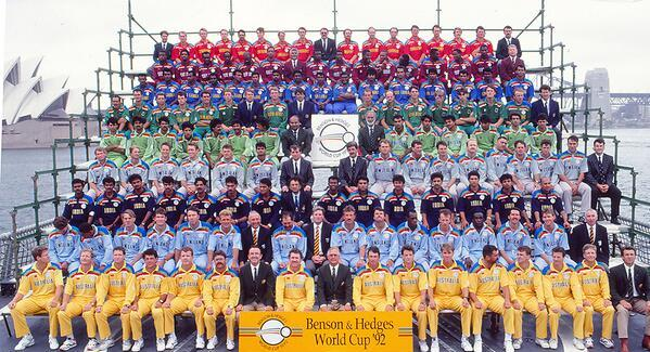 Image result for 1992 cricket world cup
