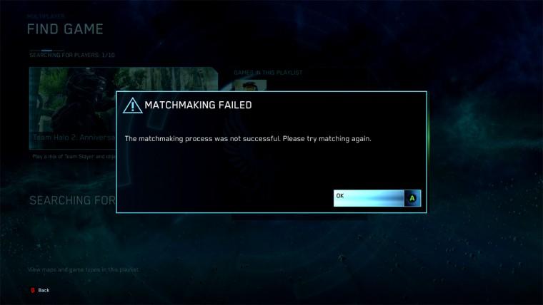 Halo mcc matchmaking australia