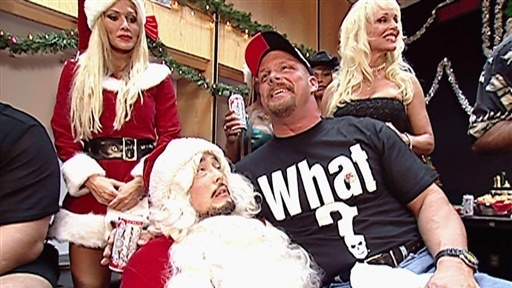 A Stone Cold Christmas.Festive Christmas For Wwe Not Quite
