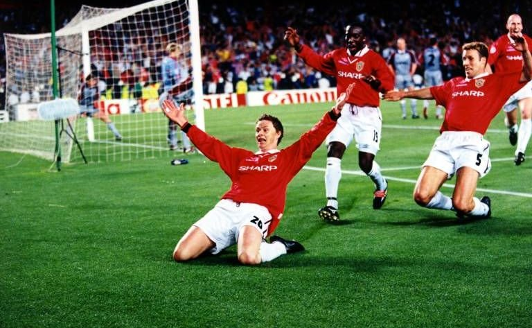 1 During Half Time In The 1999 Champions League Final