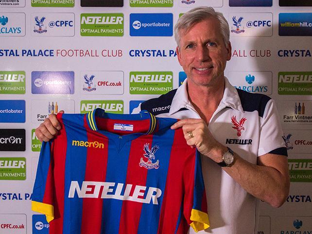 Alan Pardew Crystal Palace