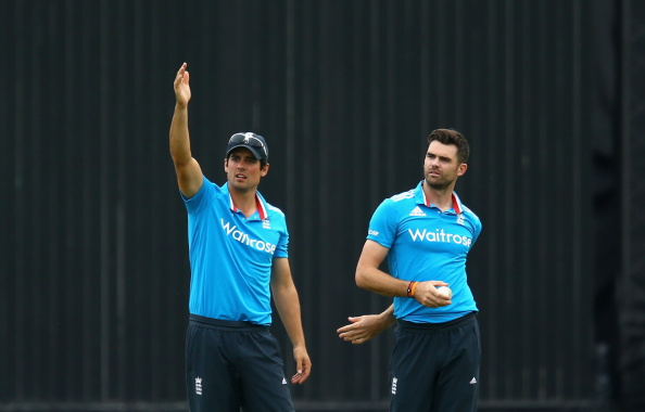 Alastair Cook James Anderson