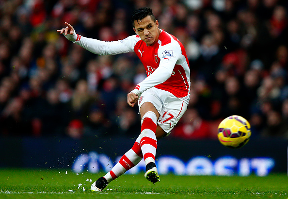 Alexis Sanchez goal