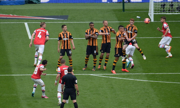Arsenal Hull FA Cup