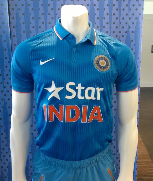 India Release New Cricket Jersey Ahead Of World Cup