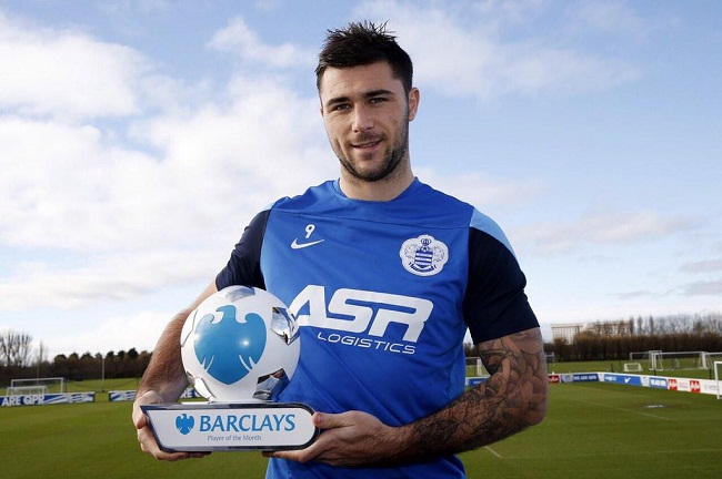 Charlie Austin player of the month