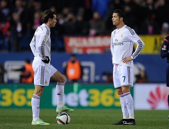 Cristiano Ronaldo and Bale