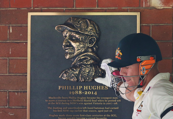 David Warner Philip Hughes