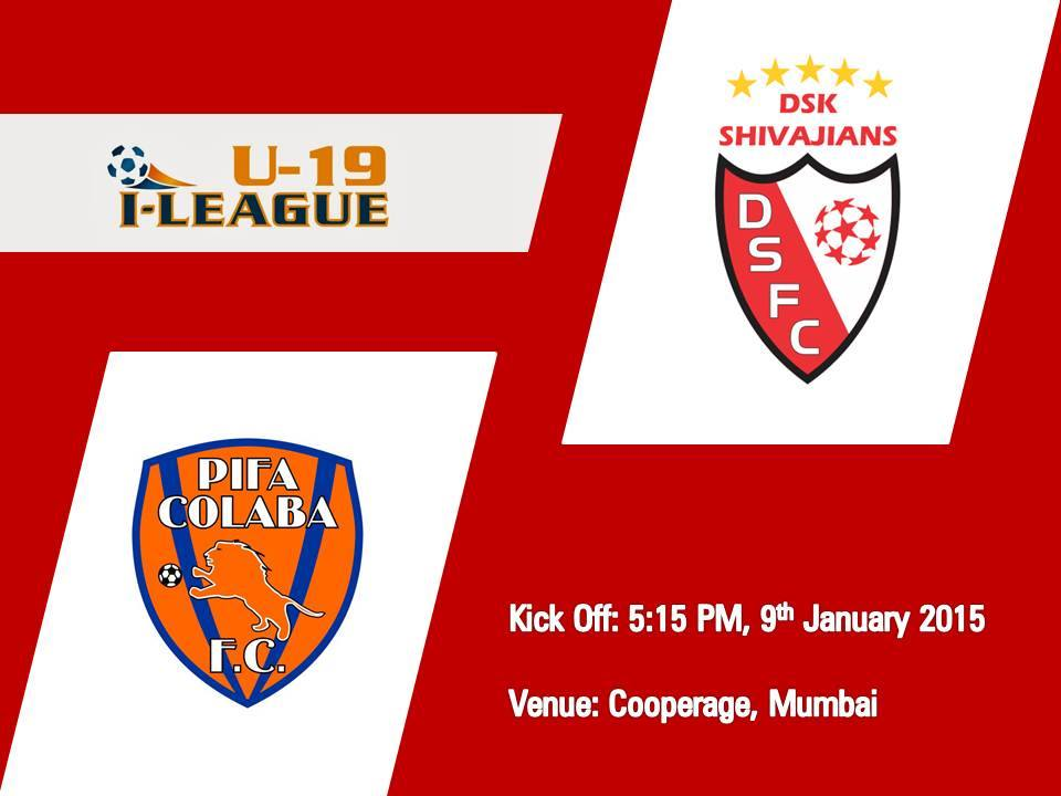 DSK Shivajians to face PIFA Colaba F.C.