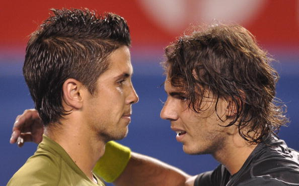 Fernando Verdasco and Rafael Nadal