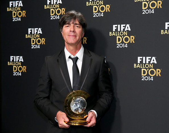 FIFA World Coach of the Year for Men's Football winner Joachim Loew