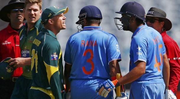 Image result for david warner rohit sharma sportskeeda