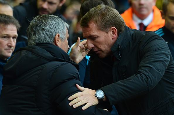 Jose Mourinho Brendan Rodgers
