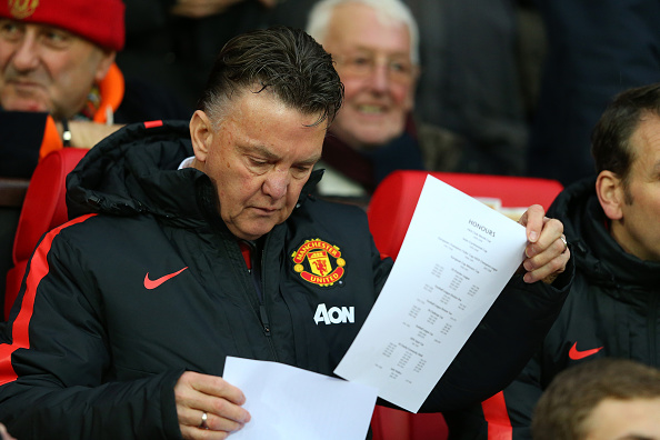 Louis van Gaal tactics
