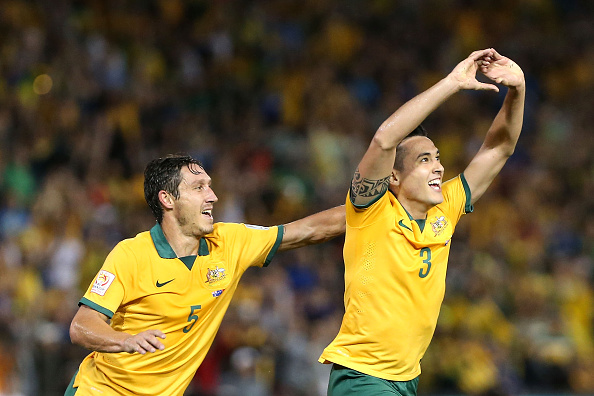 Mark Milligan and Jason Davidson