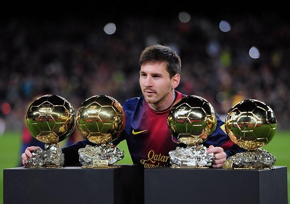 Messi 4 Ballon d or