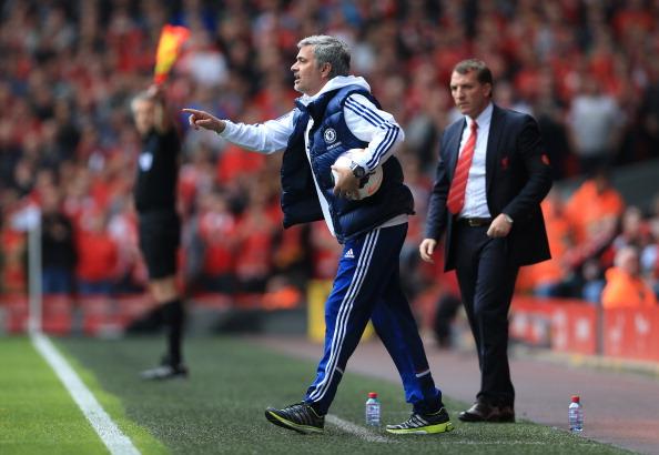 Mourinho Anfield
