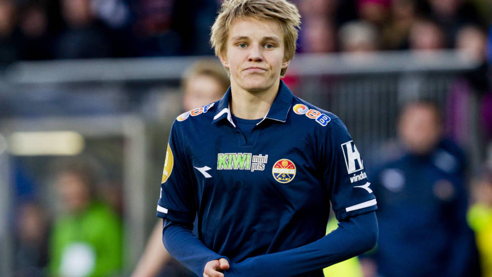 Reports: Real Madrid set to sign Norway's Martin Odegaard