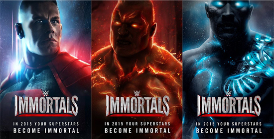 Three Superstars Confirmed to be part of WWE Immortals Game
