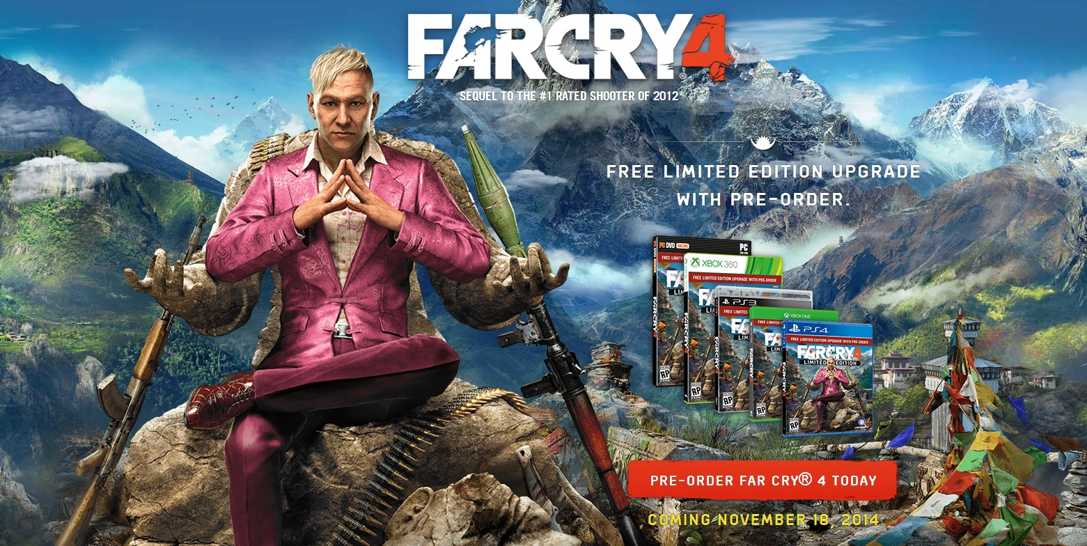 Far Cry 4 no longer available on the Xbox Digital Store