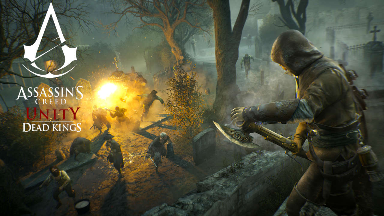 Trailer and Release Date for Assassin's Creed: Unity Dead Kings DLC revealed