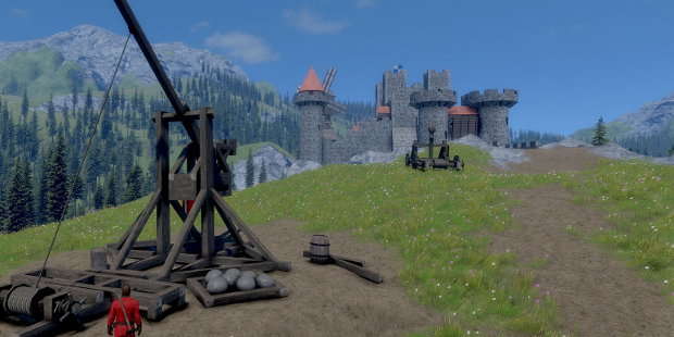 Keen Software House annouce their new project Medieval Engineers