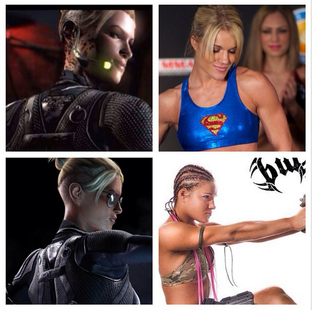 Cassie Cage of Mortal Kombat X known to bear resemblance with UFC's Felice Herrig