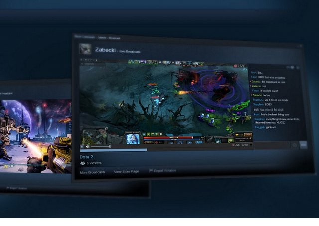 Valve's new streaming service, Steam Broadcasting goes live