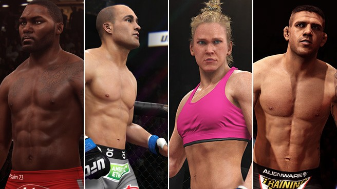 The Last Batch Of New Fighters Released for EA Sports UFC