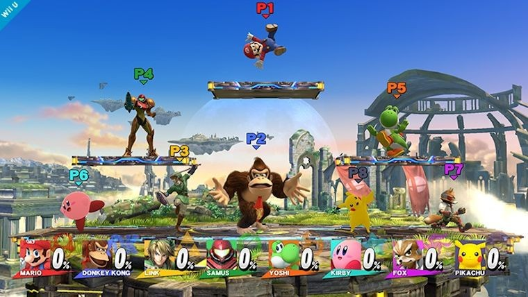 Super Smash Bros for Wii U gets a new update, brings 15 new eight player stages