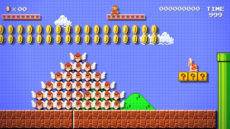 Release of Mario Maker delayed.