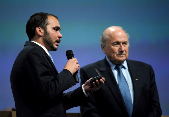 Prince Ali Bin Hussein Sepp Blatter