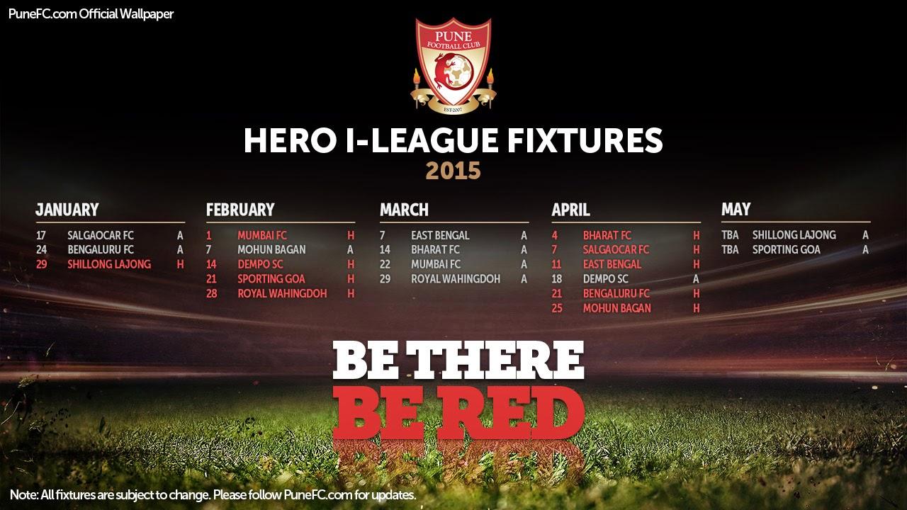 Pune FC fixtures