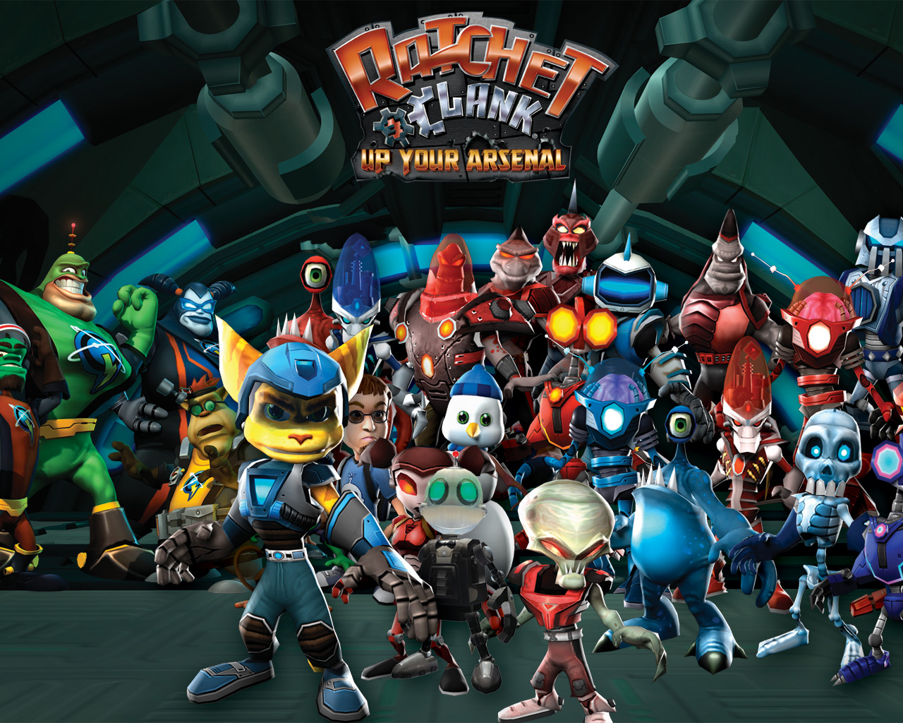 6 Ratchet Clank Up Your Arsenal