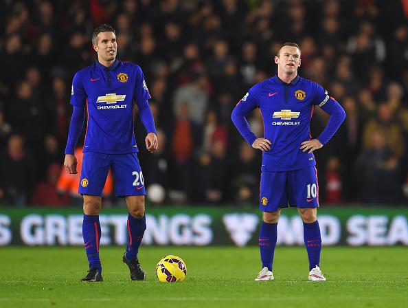 Rooney RvP Manchester United captain