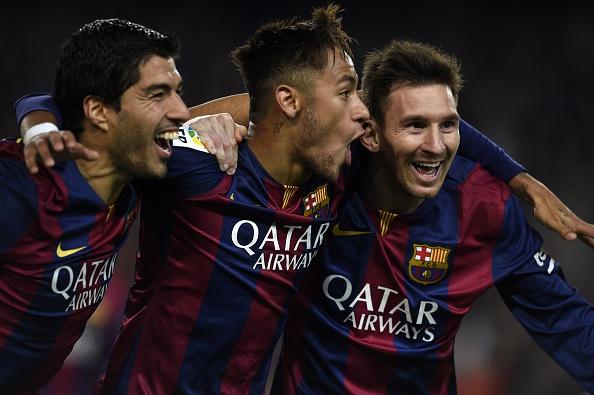 Suarez Neymar Messi