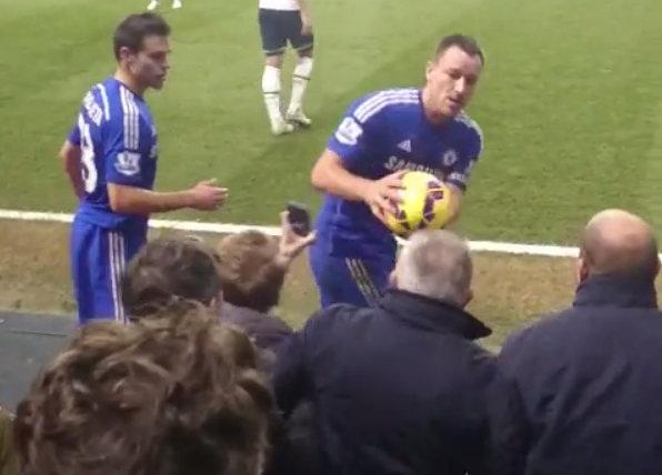 Terry Tottenham fan