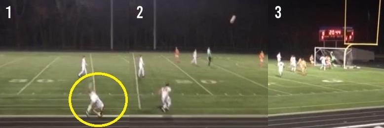Throw in goal