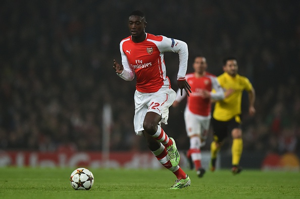 Yaya Sanogo will play under Alan Pardew at Selhurst Park for the rest of the season