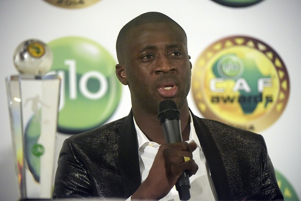 Yaya Toure CAF African Footballer of the Year 2014